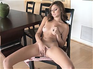 tastey Ariana Marie glamour solo masturbation