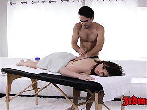 massage lovinТ milf Krissy gets her raw fuckbox plunged
