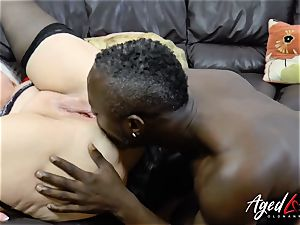 AgedLovE Lacey Starr interracial hardcore anal