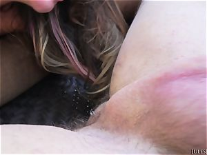 immense congenital baps August Ames take massive dick outdoor
