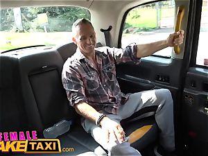 gal faux taxi phat bra-stuffers british Ava Koxxx guzzles