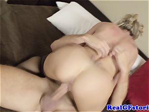 red-hot blonde housewife milf ravaged