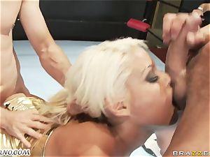 Phoenix Marie - ass-fuck fuck-fest battle in the arena