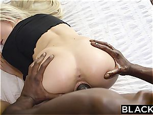 BLACKED first interracial fourway For Elsa Jean And Zoey Monroe