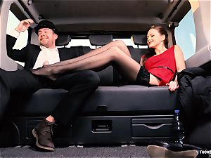 porked IN TRAFFIC - brit Tina Kay screwed in the car