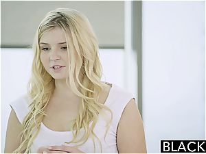 BLACKED ash-blonde teenage Melissa May boinks Her Moms boyfriend