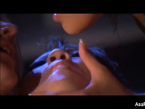 sapphic 3way with Asa Akira, London Keyes,