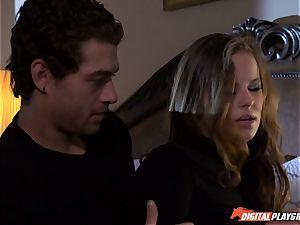 Jillian Janson breaks into guys house and gets beaten