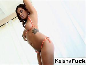 supah super-fucking-hot Keisha Grey teases and porks