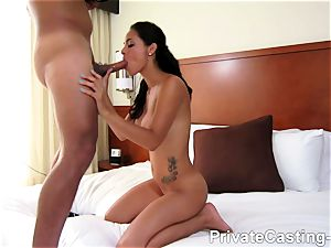 personal audition X - Latina snatch is the hottest