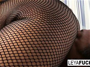 Leya Falcon demeans you and gives a fellatio