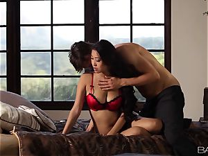 wonderful chinese Sharon Lee is spooned and creamed