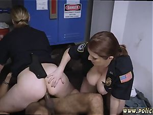 stunning unexperienced gets torn up Don t be ebony and suspicious around dark-hued Patrol cops or else