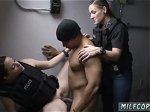 fat dark-hued caboose milky man hd and african bi-racial Purse Snatcher Learns A Lesboss s son-in-law