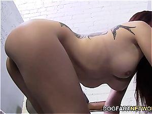 Ravishing Roxanne Rae needs a ebony fuckpole to please her right