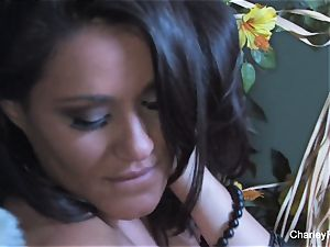 huge-chested Charley haunt is kinky for the harvest