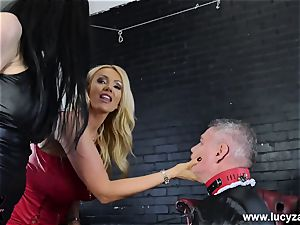 domina Lucy Zara Lilly Roma flog abase sissy maid