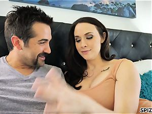 Spizoo - witness Chanel Preston fellating and pummeling