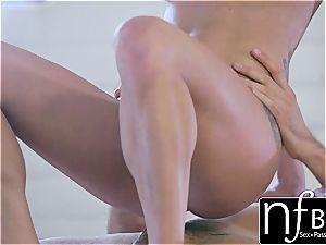 NF buxom - Peta Jensen's shuddering climax shag