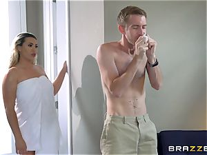 Smoking super-fucking-hot platinum-blonde with a massive bootie railing on top of Danny D