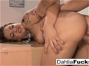 After class sensational lesson for Dahlia Sky