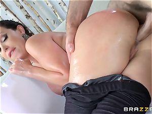 Nikki Benz anally pulverized deep by Charles Dera