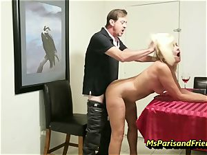 penetrating the Boss's wife with Ms Paris Rose