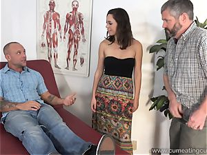 Jade Nile Has Her spouse deepthroat pipe and see Her