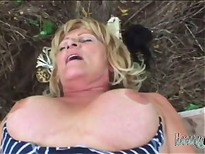 sensual grandmother with phat ass got pumped by a yam-sized young stiffy