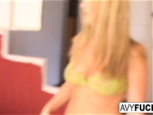 Gia Paloma and James Deen stop by Avy Scott's mansion