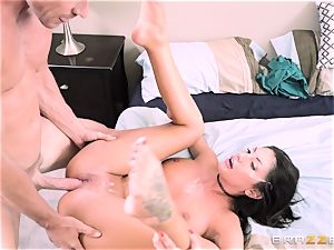 kinky August Ames hammered deep