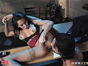 Madison Ivy riding her steamy body on top