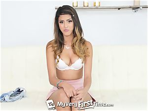 MY highly first TIME Sophia Leone very first three way shag