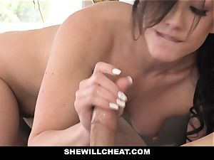 SheWillCheat super-steamy wifey Cheats with husbands accomplice