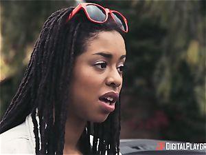 Outdoor bi-racial cunt love with Kira Noir and Jessa Rhodes