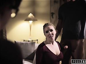 pure TABOO Lena Paul coaxed into buttfuck with Bosses spouse