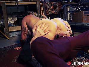 Danny D uses his manhood to bait a succubus